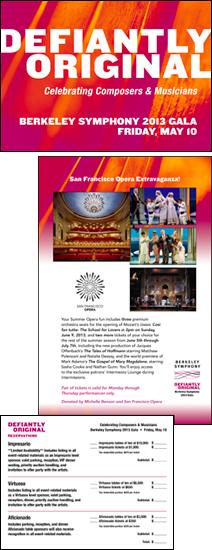 Berkeley Symphony 2013 Gala