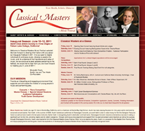 Classical Masters Music Festival