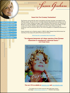 Susan Graham website
