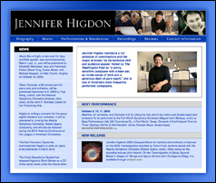 Jennifer Higdon website
