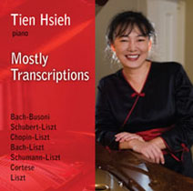 Tien Hsieh CD cover