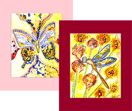 Butterflies and Dragonflies Prints