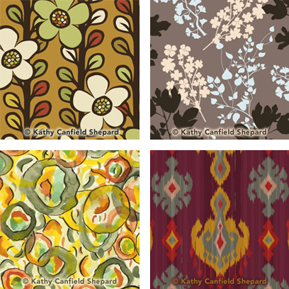 New Textile & Surface Pattern Designs