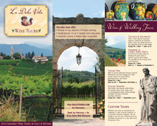 La Dolce Vita Wine Tours 2014 Brochure